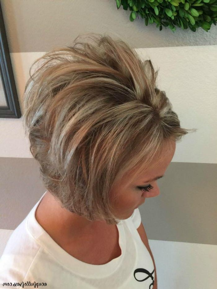 Best 25+ Short Female Hairstyles Ideas On Pinterest | Girl Hair Within Teased Short Hairstyles (View 10 of 20)