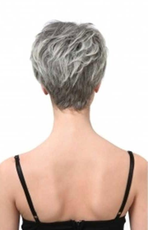 Best 25+ Short Gray Hair Ideas On Pinterest | Short Hairstyles Intended For Short Haircuts For Salt And Pepper Hair (View 12 of 20)