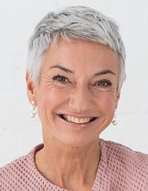 Best 25+ Short Gray Hairstyles Ideas On Pinterest | Short Gray In Short Hairstyles For Grey Haired Woman (View 10 of 20)