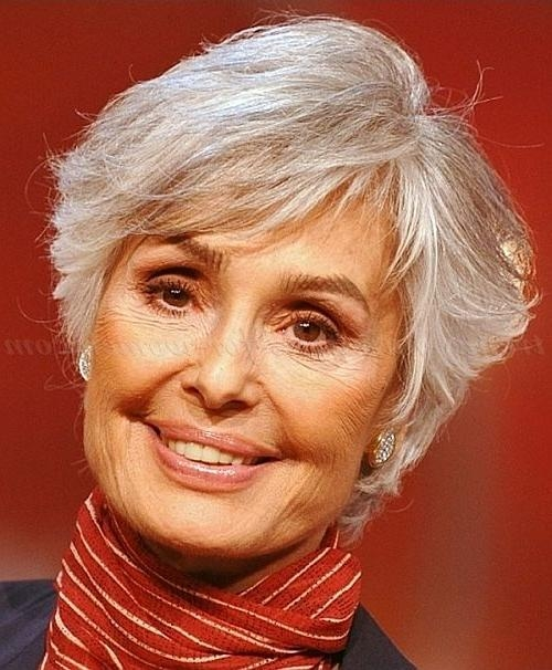 Best 25+ Short Gray Hairstyles Ideas On Pinterest | Short Gray Intended For Short Haircuts For Grey Haired Woman (View 10 of 20)