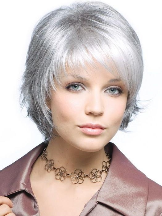 Best 25+ Short Gray Hairstyles Ideas On Pinterest | Short Gray Intended For Short Haircuts For Salt And Pepper Hair (View 15 of 20)