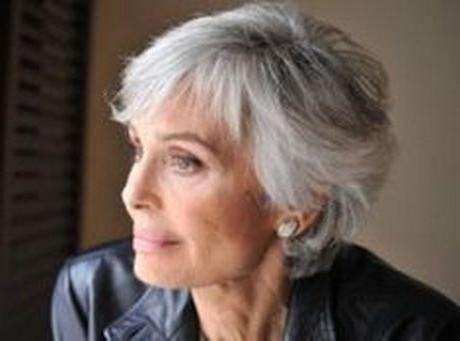 Best 25+ Short Gray Hairstyles Ideas On Pinterest | Short Gray Regarding Short Hairstyles For Grey Haired Woman (View 12 of 20)