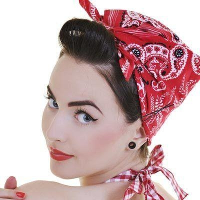 Best 25+ Short Hair Bandana Ideas On Pinterest | Rockabilly Short With Regard To Short Hairstyles With Bandanas (View 13 of 20)