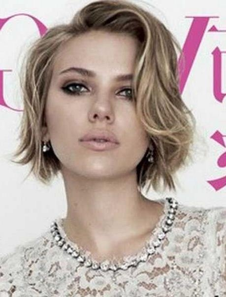 Best 25+ Short Hair Oval Face Ideas On Pinterest | Bobs, Rostros Intended For Short Hairstyles For Square Faces And Thick Hair (View 6 of 20)