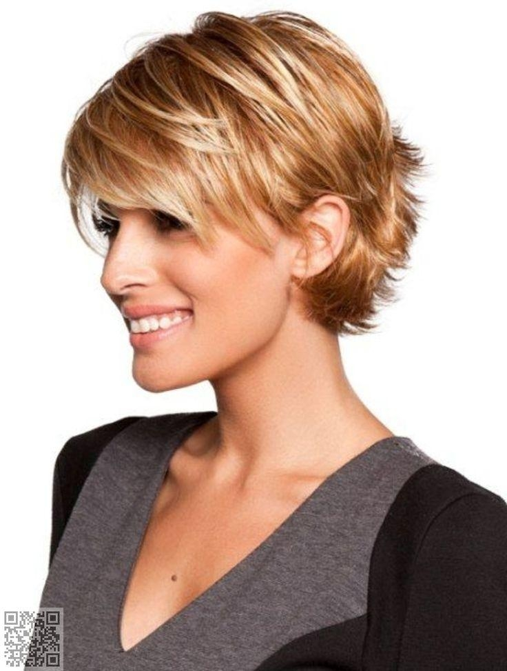 Best 25+ Short Hairstyles With Bangs Ideas On Pinterest | Short For Layered Short Hairstyles With Bangs (View 11 of 20)