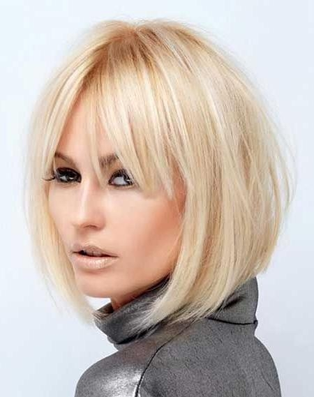 Best 25+ Short Hairstyles With Bangs Ideas On Pinterest | Short Throughout Short Haircuts With Bangs (View 11 of 20)