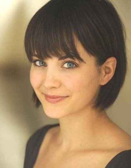 Best 25+ Short Hairstyles With Bangs Ideas On Pinterest   Short With Short Hairstyles With Fringe (View 13 of 20)