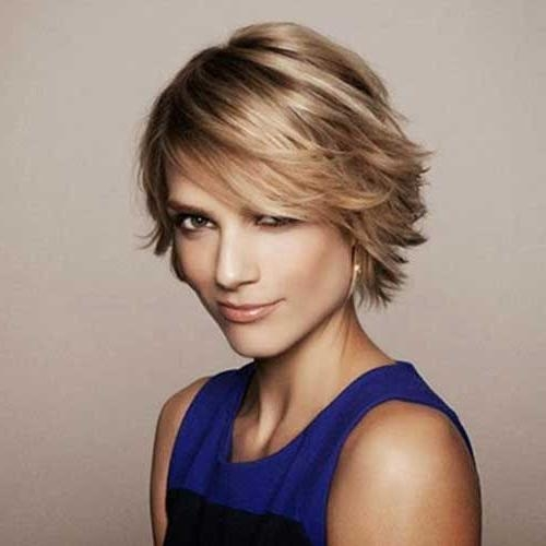 Best 25+ Short Layered Haircuts Ideas On Pinterest | Short Layer With Short Hairstyles With Bangs And Layers (View 12 of 20)