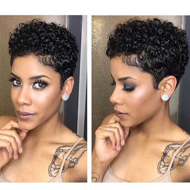 Best 25+ Short Natural Haircuts Ideas On Pinterest | Short Natural For Short Haircuts For Natural Hair Black Women (View 13 of 20)
