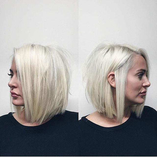 Best 25+ Short Platinum Blonde Hair Ideas On Pinterest | Short Throughout Platinum Blonde Short Hairstyles (View 17 of 20)