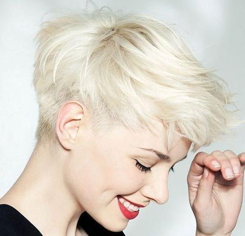 Best 25+ Short Platinum Hair Ideas On Pinterest | Platinum Blonde Within Platinum Blonde Short Hairstyles (View 6 of 20)