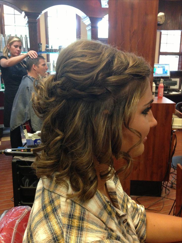 Best 25+ Short Prom Hair Ideas On Pinterest | Short Hair Prom Intended For Short Haircuts For Prom (View 7 of 20)