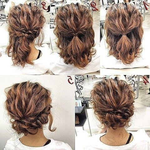 Best 25+ Short Prom Hairstyles Ideas On Pinterest | Short Hair Regarding Homecoming Short Hairstyles (View 13 of 20)