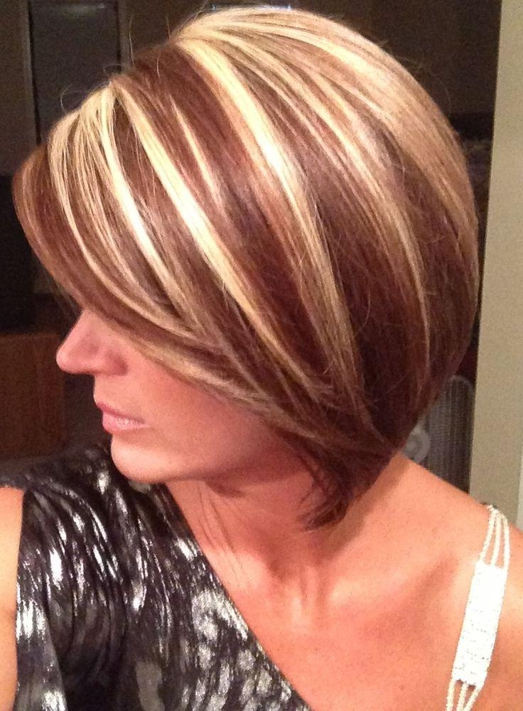 Best 25+ Short Red Hair Color With Highlights Ideas On Pinterest Regarding Short Haircuts With Red And Blonde Highlights (View 17 of 20)