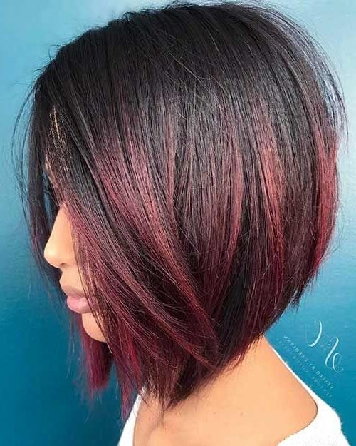 Best 25+ Short Red Hair Ideas On Pinterest | Ombre Short Hair Red Intended For Red And Black Short Hairstyles (View 17 of 20)