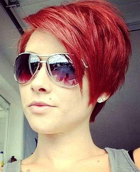 Best 25+ Short Red Hair Ideas On Pinterest | Ombre Short Hair Red Intended For Short Hairstyles For Red Hair (View 7 of 20)