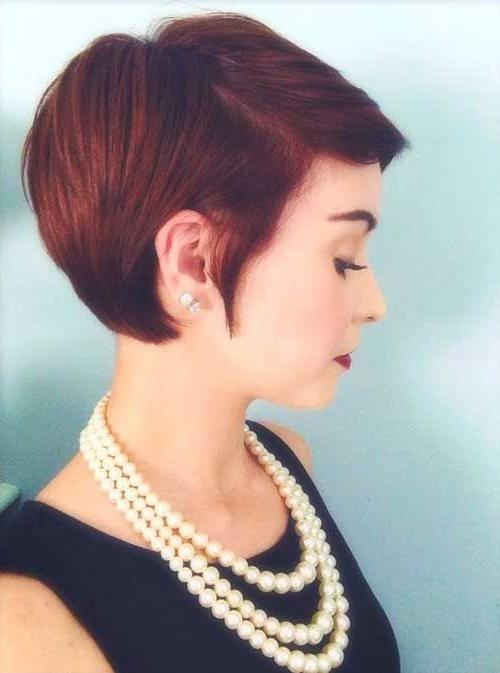 Best 25+ Short Red Hair Ideas On Pinterest | Ombre Short Hair Red Regarding Auburn Short Hairstyles (View 13 of 20)