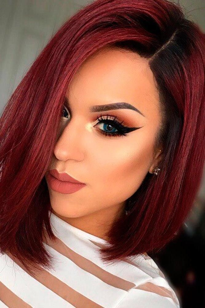 Best 25+ Short Red Hair Ideas On Pinterest | Ombre Short Hair Red Throughout Short Hairstyles For Red Hair (View 9 of 20)