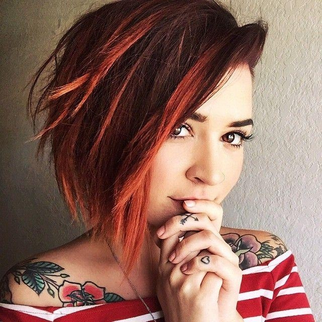 Best 25+ Short Red Hair Ideas On Pinterest | Ombre Short Hair Red With Red Short Hairstyles (View 11 of 20)