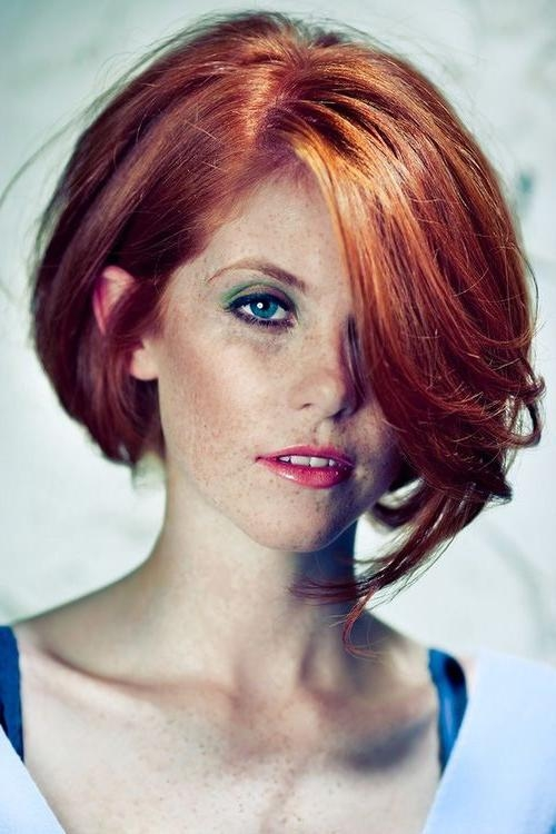 Featured Photo of Red Hair Short Haircuts