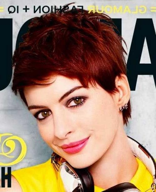 Best 25+ Short Red Hair Ideas On Pinterest | Short Auburn Hair For Short Haircuts With Red Color (View 9 of 20)