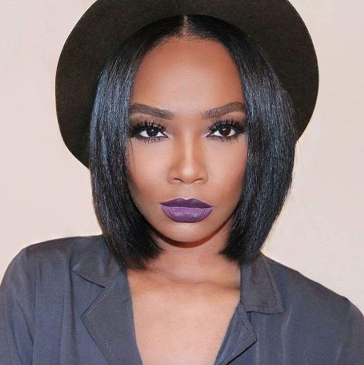 Best 25+ Short Relaxed Hair Ideas On Pinterest | Short Relaxed With Short Haircuts Styles For Black Hair (View 14 of 20)
