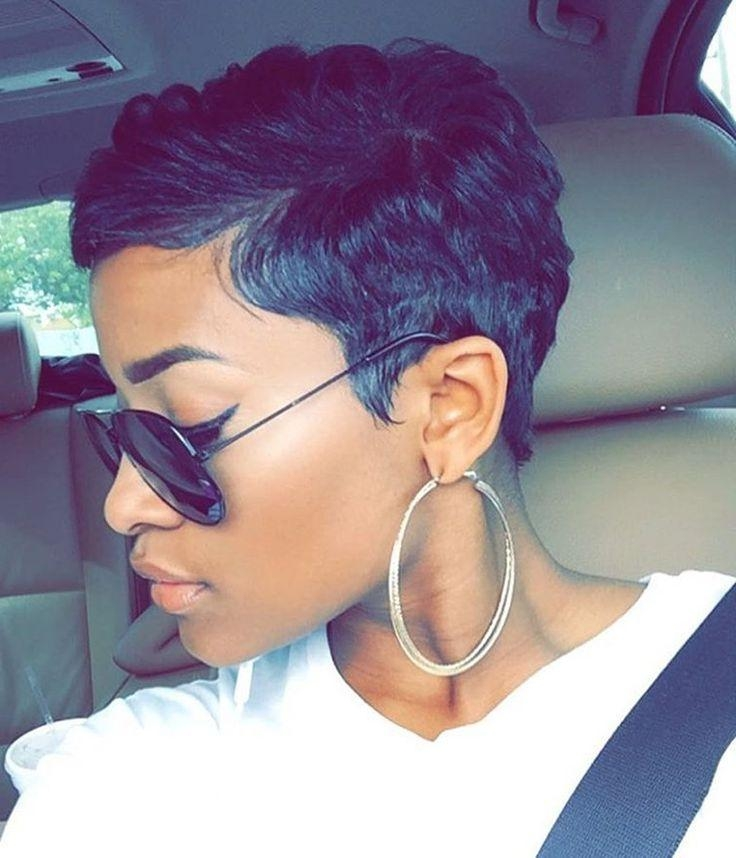 Best 25+ Short Relaxed Hairstyles Ideas On Pinterest | Black Hair For Relaxed Short Hairstyles (View 9 of 20)