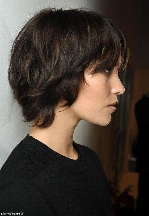 Best 25+ Short Shaggy Haircuts Ideas On Pinterest | Short Choppy For Cute Choppy Shaggy Short Haircuts (View 13 of 20)