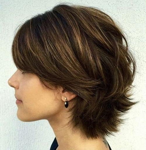 Best 25+ Short Shaggy Haircuts Ideas On Pinterest | Short Choppy With Cute Choppy Shaggy Short Haircuts (View 14 of 20)