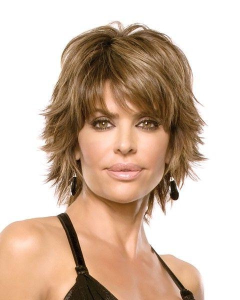 Best 25+ Short Shaggy Haircuts Ideas On Pinterest | Short Choppy With Regard To Short Haircuts With Wispy Bangs (View 10 of 20)