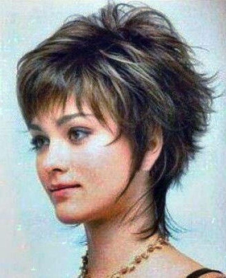 Best 25+ Short Shaggy Haircuts Ideas On Pinterest | Short Choppy Within Cute Choppy Shaggy Short Haircuts (View 5 of 20)