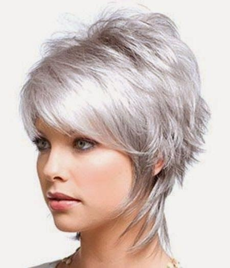 Best 25+ Short Shaggy Haircuts Ideas On Pinterest | Short Shag Within Cute Shaggy Short Haircuts (View 14 of 20)