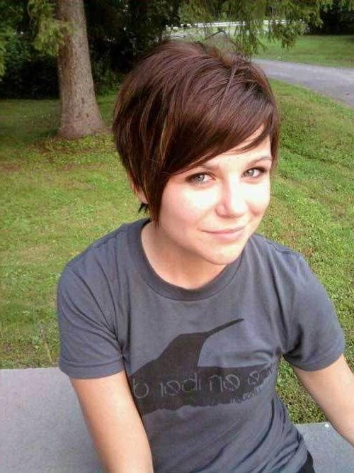 Best 25+ Short Thick Hair Ideas On Pinterest | Thick Hair Long Bob In Short Haircuts For Thick Hair With Bangs (View 16 of 20)