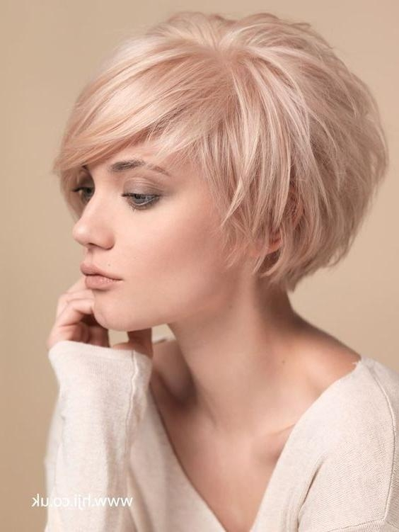 Best 25+ Short Thin Hairstyles Ideas On Pinterest | Short Thick With Regard To Short Hairstyles For Small Faces (View 7 of 20)