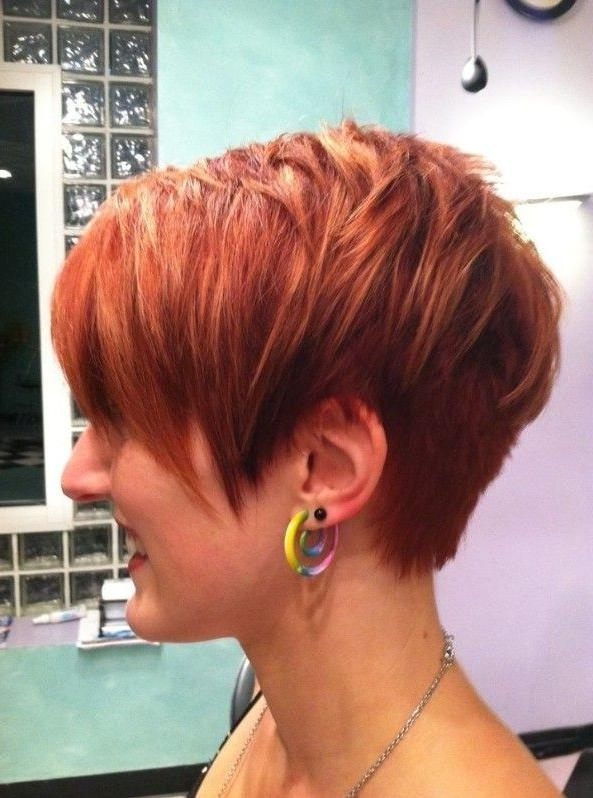 Best 25+ Short Trendy Haircuts Ideas On Pinterest | 2017 Short For Short Hairstyles Cut Around The Ears (View 7 of 20)