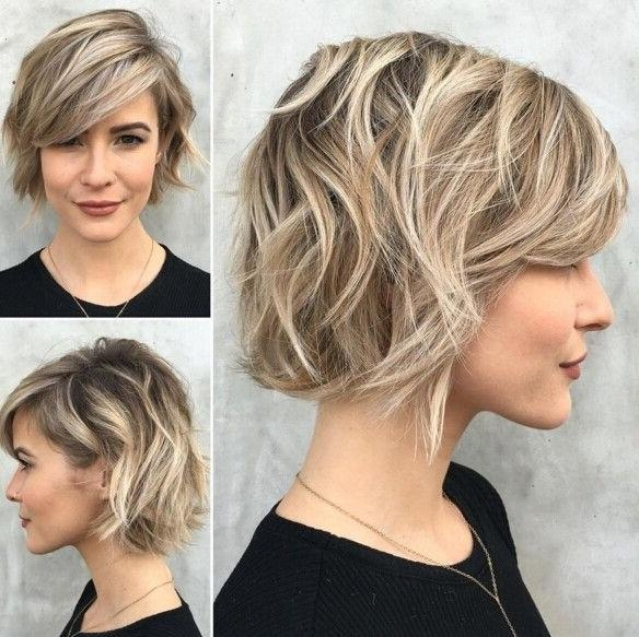 Best 25+ Short Wavy Hair Ideas On Pinterest | Lob Haircut, Waves Within Short Haircuts For Tall Women (View 9 of 20)