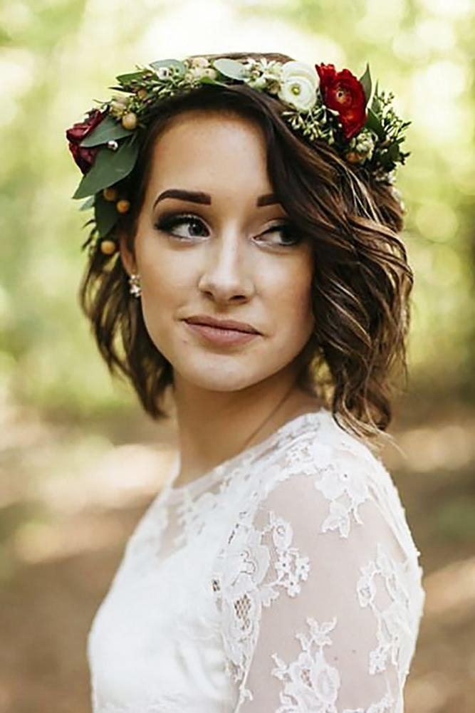 Best 25+ Short Wedding Hairstyles Ideas On Pinterest | Short Hair Intended For Short Hairstyles For Weddings For Bridesmaids (View 9 of 20)