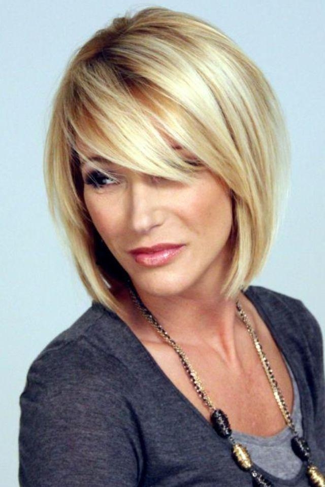 Best 25+ Side Bangs Bob Ideas On Pinterest | Bob With Side Fringe Within Short Haircuts With Side Swept Bangs (View 2 of 20)