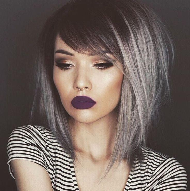 Best 25+ Side Fringe Haircuts Ideas On Pinterest | Bob Side Fringe Intended For Short Haircuts With Side Fringe (View 7 of 20)