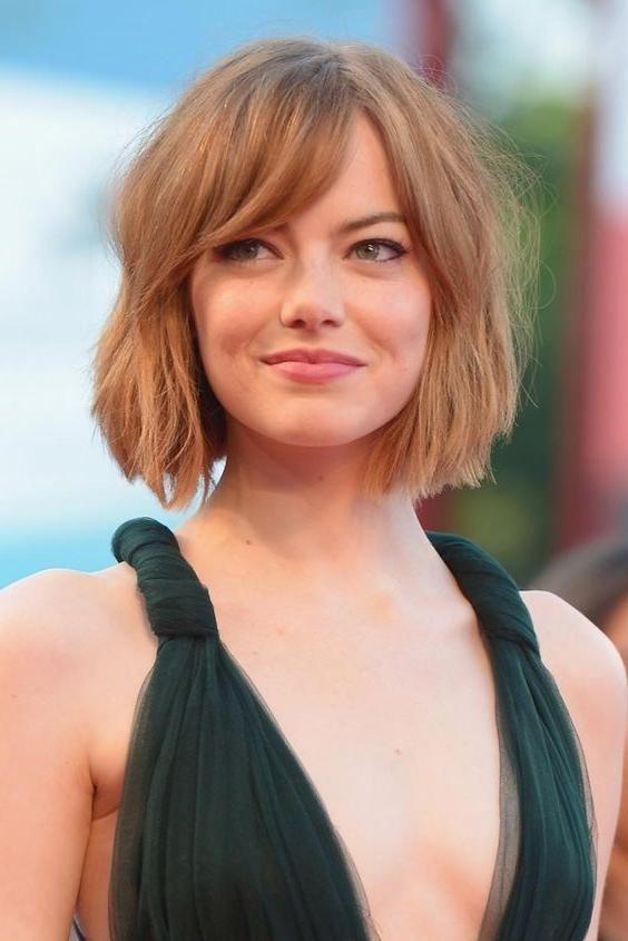 Best 25+ Side Swept Bangs Ideas On Pinterest | Sweep Bangs, Cut Regarding Short Haircuts With Side Swept Bangs (View 7 of 20)
