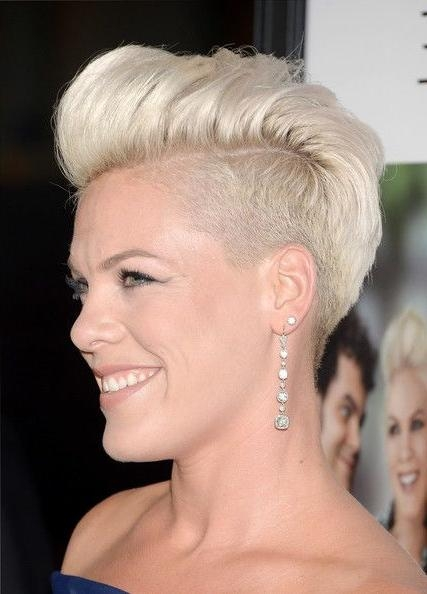 Best 25+ Singer Pink Hairstyles Ideas On Pinterest | Pink Singer Pertaining To Pinks Short Haircuts (View 4 of 20)