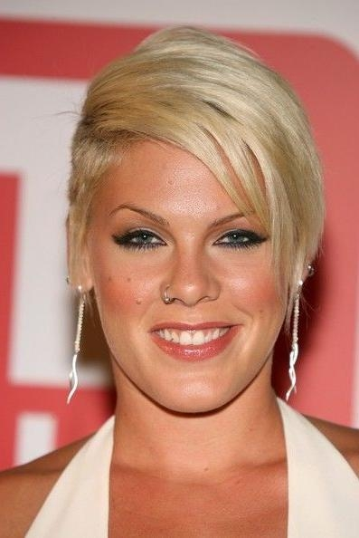 Best 25+ Singer Pink Hairstyles Ideas On Pinterest | Pink Singer Within Pinks Short Haircuts (View 10 of 20)