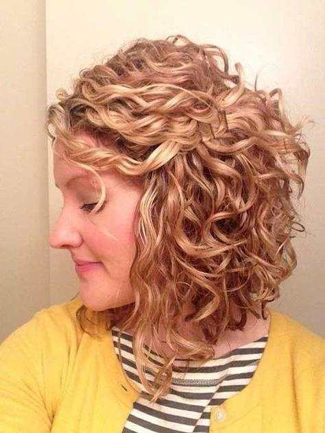 Best 25+ Thick Curly Haircuts Ideas On Pinterest | Curly Medium With Thick Curly Short Haircuts (View 2 of 20)