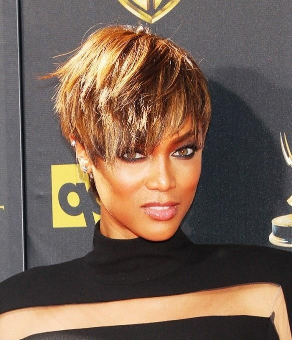 Best 25+ Tyra Banks Short Hair Ideas On Pinterest | Tyra Banks Inside Tyra Banks Short Hairstyles (View 2 of 20)
