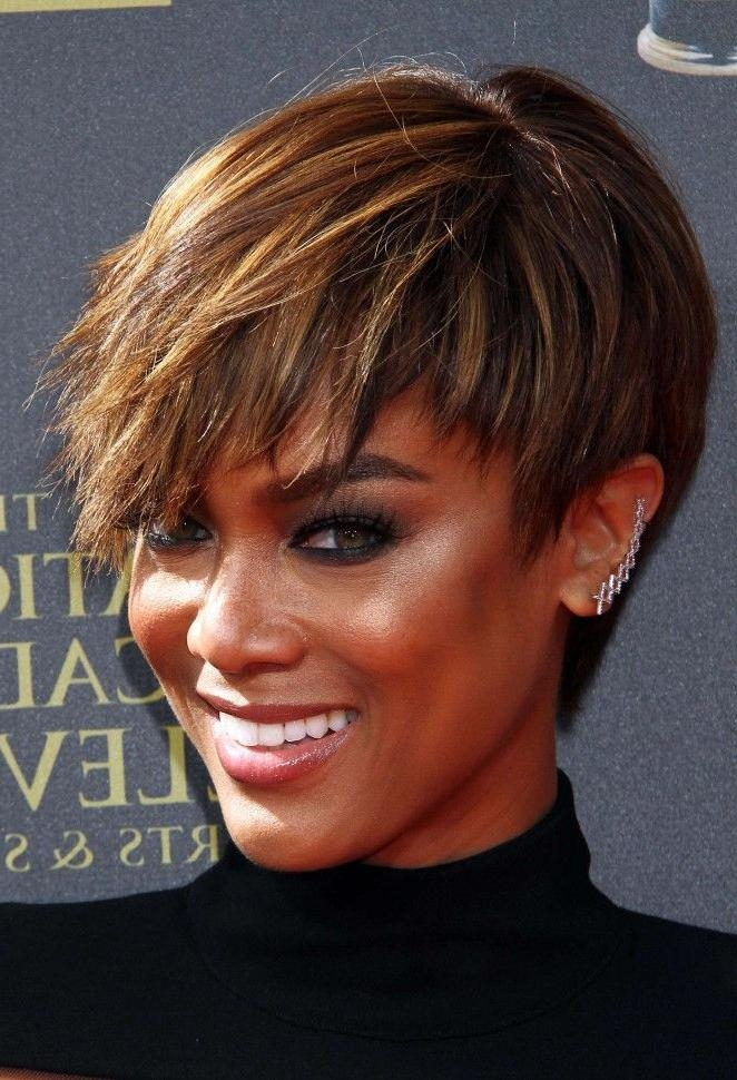 Best 25+ Tyra Banks Short Hair Ideas On Pinterest | Tyra Banks Inside Tyra Banks Short Hairstyles (View 1 of 20)