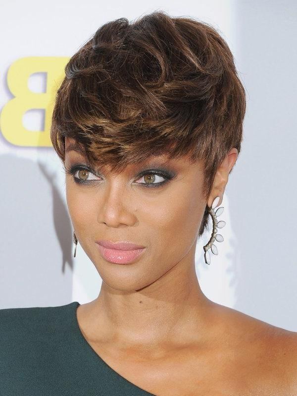 Best 25+ Tyra Banks Short Hair Ideas On Pinterest | Tyra Banks Intended For Tyra Banks Short Hairstyles (View 3 of 20)