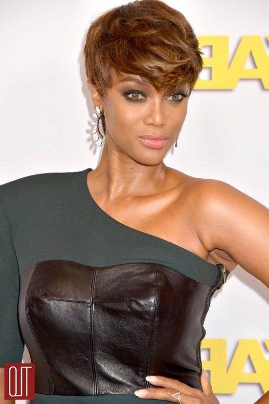 Best 25+ Tyra Banks Short Hair Ideas On Pinterest | Tyra Banks Pertaining To Tyra Banks Short Hairstyles (View 5 of 20)