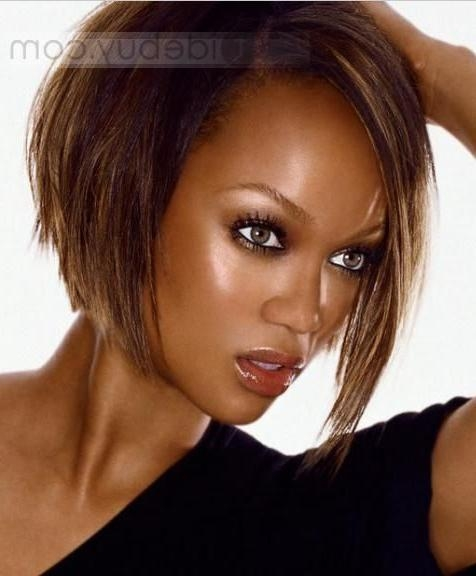 Best 25+ Tyra Banks Short Hair Ideas On Pinterest | Tyra Banks Pertaining To Tyra Banks Short Hairstyles (View 4 of 20)