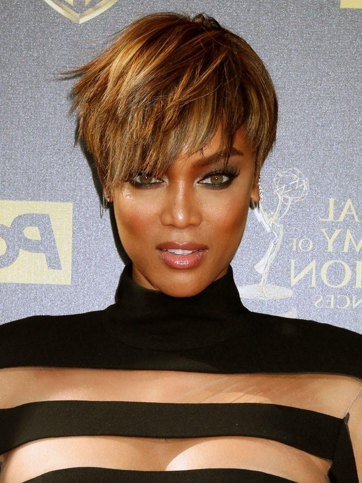 Best 25+ Tyra Banks Short Hair Ideas On Pinterest | Tyra Banks Regarding Tyra Banks Short Hairstyles (View 6 of 20)