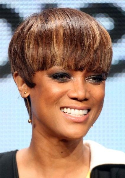 Best 25+ Tyra Banks Short Hair Ideas On Pinterest | Tyra Banks With Tyra Banks Short Hairstyles (View 7 of 20)